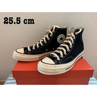 CONVERSE - 【新品未使用 送料込み】converse ct70 ブラック 25.5cm