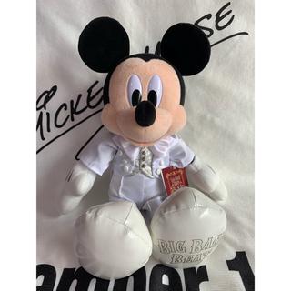 ミッキーマウス - ディズニーシー ビッグバンドビート BBB 白タキシード ミッキーぬいぐるみ