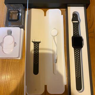 アップルウォッチ(Apple Watch)の【美品】Apple Watch Nike+Series 3 GPSモデル42mm(腕時計(デジタル))