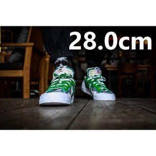ナイキ(NIKE)の28cm Nike × sacai Blazer Low 新品未試着(スニーカー)