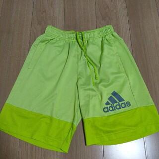 adidas - アディダス パンツ ジャージ ズボン ハーフパンツ 黄緑 サッカー