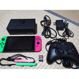 Nintendo Switch - Nintendo Switch 本体一式とマリオカート、コントローラ