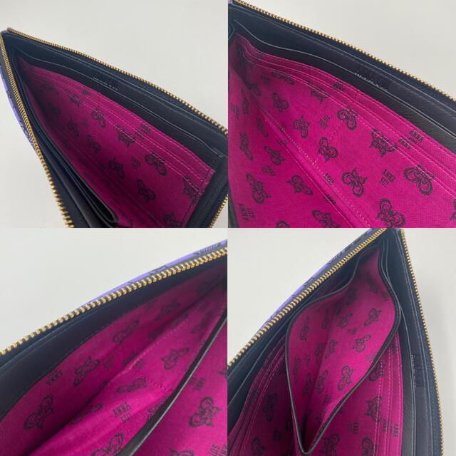 ANNA SUI(アナスイ)の未使用☺︎ANNA SUI アナスイ 長財布 スターリーナイト パープル レディースのファッション小物(財布)の商品写真