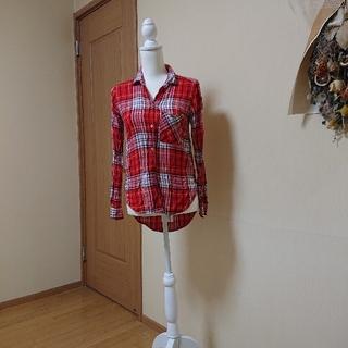 アメリカンイーグル(American Eagle)のアメリカンイーグル  AMERICAN EAGLE   チェックシャツ(シャツ/ブラウス(長袖/七分))