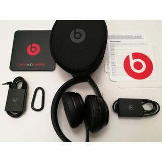 ビーツバイドクタードレ(Beats by Dr Dre)のBeats Solo 3 wireless Matte Black (ヘッドフォン/イヤフォン)