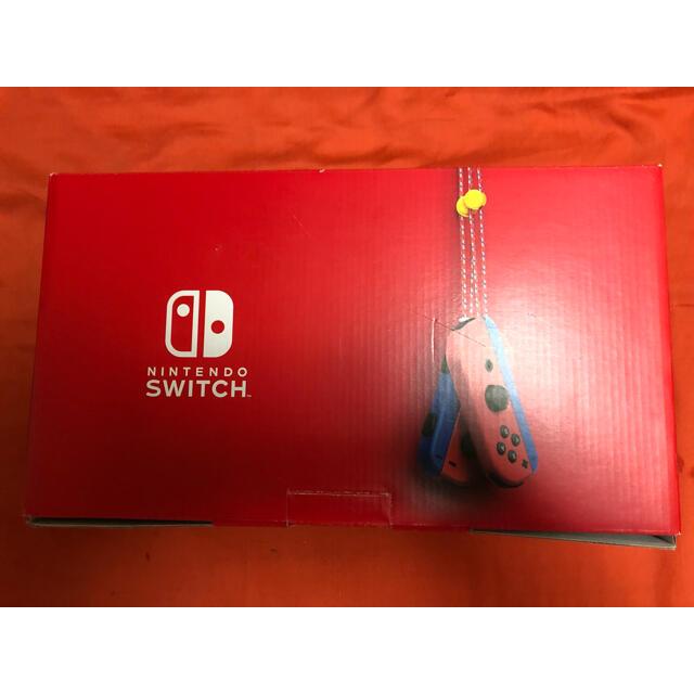 Nintendo Switch(ニンテンドースイッチ)のNintendo Switch マリオレッド×ブルーセット エンタメ/ホビーのゲームソフト/ゲーム機本体(家庭用ゲーム機本体)の商品写真