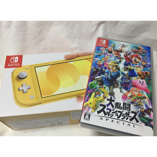 Nintendo Switch - Nintendo Switch Lite ニンテンドースイッチ スマブラ 本体
