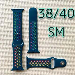 Apple watch アップルウオッチ バンド ベルト シリコン38/40