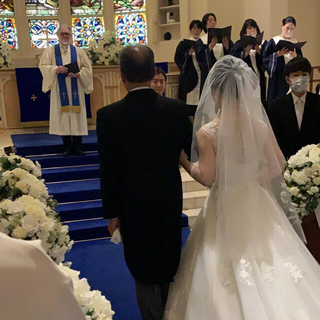 タカミ(TAKAMI)のタカミブライダル  新作ラメショートベール(ヘッドドレス/ドレス)
