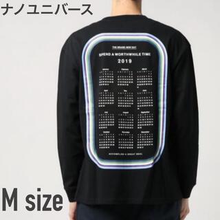ナノユニバース(nano・universe)の【sail】ナノユニバース カレンダーTシャツ ロングスリーブ Mサイズ (Tシャツ/カットソー(七分/長袖))