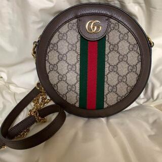 Gucci - GUCCI グッチ オフィディア GGミニラウンドショルダーバッグ
