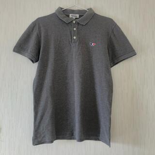 メゾンキツネ(MAISON KITSUNE')のメゾンキツネ‼️ポロシャツ‼️美品‼️グレー‼️(ポロシャツ)