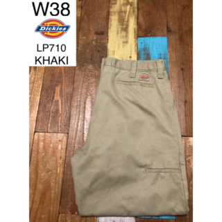 Dickies - 31086 アメリカ輸入 USED ディッキーズ LP710 カーキ W38