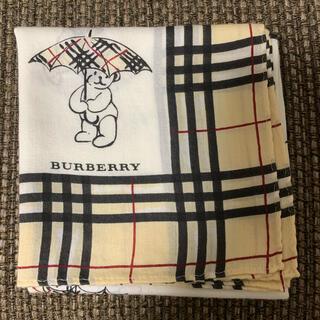 BURBERRY - バーバリー BURBERRY ハンカチ クマ