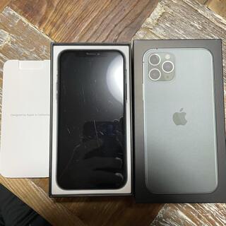iPhone - iPhone 11 pro 64G ミッドナイトグリーン