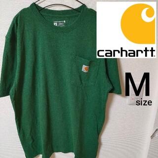 carhartt - Carhartt ルーズフィット グリーン Mサイズ Tシャツ メンズカットソー