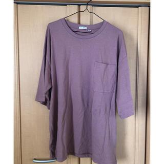 ニコアンド(niko and...)のniko and…/USAコットンUVカットめちゃビッグTシャツ(Tシャツ(半袖/袖なし))