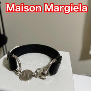 Maison Martin Margiela - Maison Margiela メゾンマルジェラ ブレスレット シルバー レザー