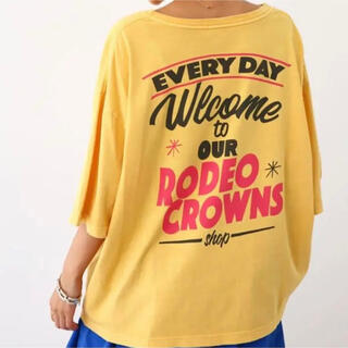 RODEO CROWNS WIDE BOWL - Shop sigh Vネック Tシャツ