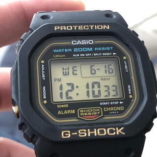 G-SHOCK - G-SHOCK カシオ Gショック DW-5600C ゴールド スピード