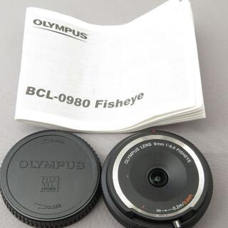 オリンパス(OLYMPUS)のオリンパス BCL-0980 9mm F8FISHEYE(レンズ(単焦点))