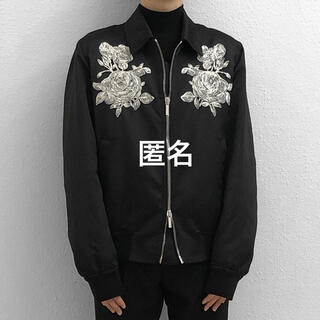 DIOR HOMME - Dior Homme 薔薇 ブルゾン 18ss