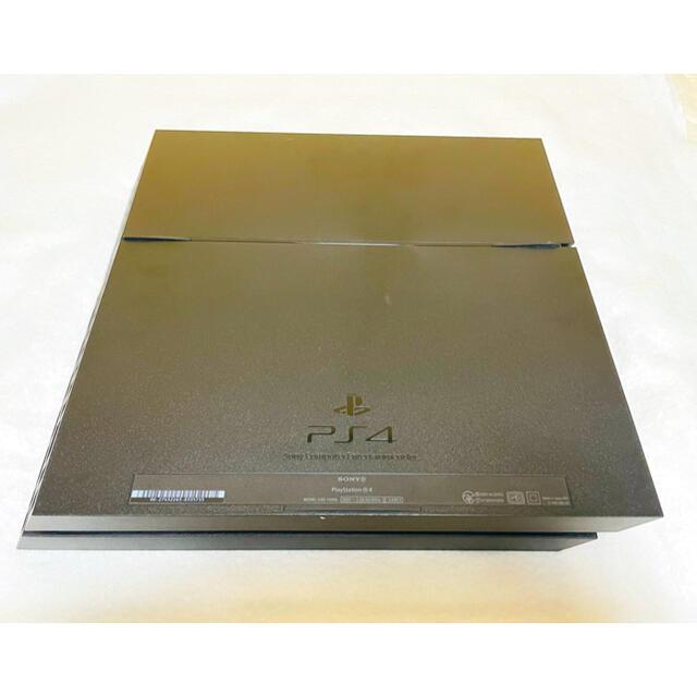 PlayStation4(プレイステーション4)のPS4 プレステ4 本体 CUH-1100AB01 500G ジェットブラック エンタメ/ホビーのゲームソフト/ゲーム機本体(家庭用ゲーム機本体)の商品写真