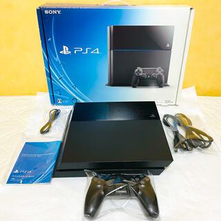 PlayStation4 - PS4 プレステ4 本体 CUH-1100AB01 500G ジェットブラック