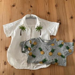 Branshes - 半袖シャツ Tシャツ 110 セット