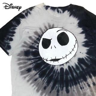 Disney - *3787 disney ナイトメアビフォアクリスマス タイダイ Tシャツ