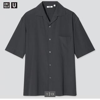 ユニクロ(UNIQLO)のオープンカラーシャツ/UNIQLO U(シャツ)
