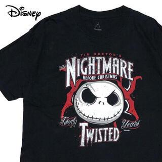 Disney - *3788 disney ナイトメアビフォアクリスマス ジャック Tシャツ
