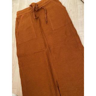 ジーユー(GU)のGU ワッフルスカート(ひざ丈スカート)