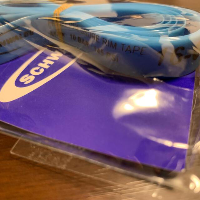 シュワルベ ハイプレッシャーリムテープ[FB16-622(700C用16mm巾) スポーツ/アウトドアの自転車(パーツ)の商品写真
