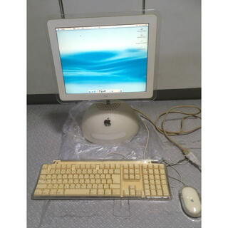 マック(Mac (Apple))のiMac g4 15インチ 大福  iMac800 2002年 m8535ja (デスクトップ型PC)