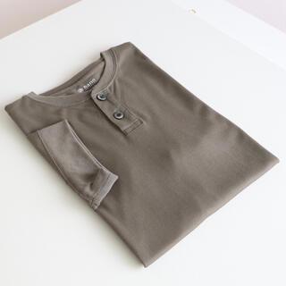ナノユニバース(nano・universe)のナノユニバース ヘンリーネックTee  XL(Tシャツ/カットソー(半袖/袖なし))