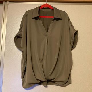 INGNI - INGNI スキッパーシャツ 半袖 カーキ