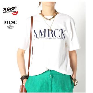 DEUXIEME CLASSE - 新入荷 MUSE 【AMERICANA/アメリカーナ】 AMRCN Tシャツ