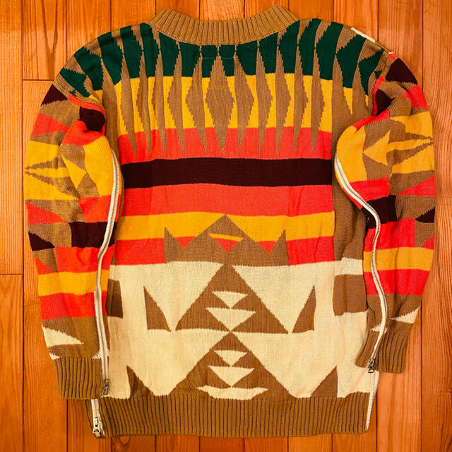 sacai(サカイ)のSacai Pendleton Sweatshirt sweater Size1 メンズのトップス(ニット/セーター)の商品写真