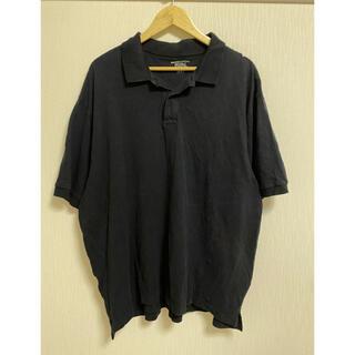 basic editions 2XL ブラック オーバーサイズ ポロシャツ