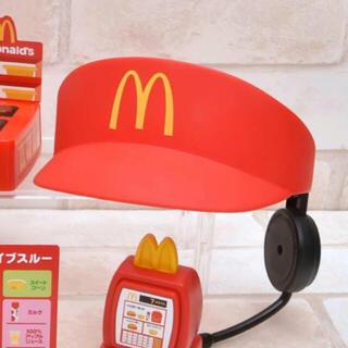 マクドナルド - 未開封✨マクドナルド なりきりサンバイザー赤