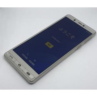 AQUOS - SIMロック解除済み 美品 SHARP シンプルスマホ5 A001SH