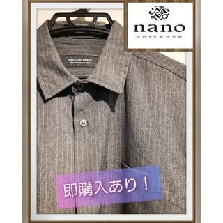 ナノユニバース(nano・universe)の新品未使用!夏シーズン用品 nano・universe シャツ(シャツ)
