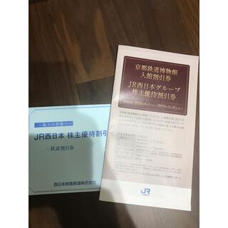 JR西日本 株主優待鉄道割引券(その他)