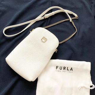 Furla - ●美品●フルラ ベルヴェデーレ ショルダーバッグ スマホケース ホワイト
