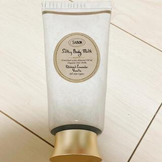サボン(SABON)のサボン シルキーボディミルク パチュリ ラベンダー バニラ(ボディローション/ミルク)