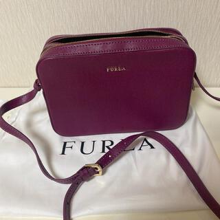 Furla - フルラ パープル ショルダーバッグ