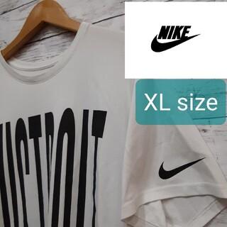 NIKE - ✨人気✨ ✨NIKE(ナイキ)✨ ホワイトTシャツ men's XLsize