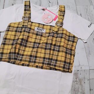 PINK-latte - 【新品☆ニコラ掲載】PINK-latte☆ピンクラテ ビスチェ+Tシャツ セット