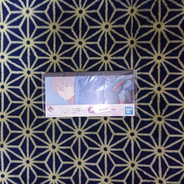 BANPRESTO(バンプレスト)のシン・エヴァンゲリオン 一番くじ 渚カヲル メモ帳 F賞 エンタメ/ホビーのおもちゃ/ぬいぐるみ(キャラクターグッズ)の商品写真